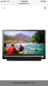 "Sony 50"" Projection tv KDS-50a2020 SXRD 1080p HD"