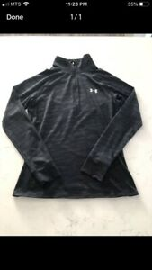Under Armour 1/2 Zip Lightweight Shirt Size Small