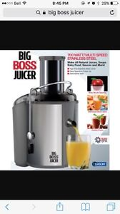 Big Boss Juicer: New Condition