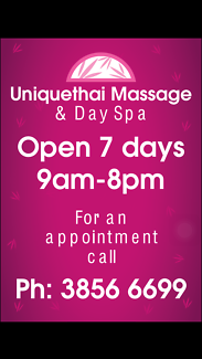 Uniquethai massage Day spa Waxing