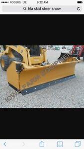 Wanted skidsteer plow