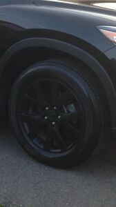"Mags 18""+ Pneu d'hiver Mazda cx5, cx7... NEGO"