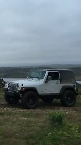 2004 Jeep TJ, 4L, 5 Speed