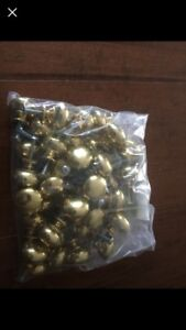 Brass coloured knobs for kitchen/bathroom cabinets 42