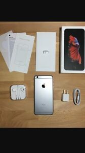 iPhone 6s Plus 128 gig Rogers w/apple care plus / brand new