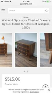 Morris of Glasgow chest of drawers