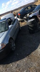 NEED GONE $2000 98 civic SI VTEC WITH PARTS CAR