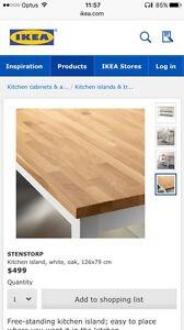 IKEA Stenstorp island bench Perth Perth City Area Preview