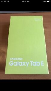 SAMSUNG GALAXY TAB E 16 GB LTE ONLY $200!!