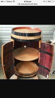 Wanted: Wine barrel