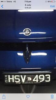 Hsv number plates. (hsv493) Bendigo Bendigo City Preview
