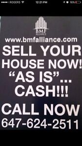 WE WILL BUY YOUR HOME FOR CASH TODAY