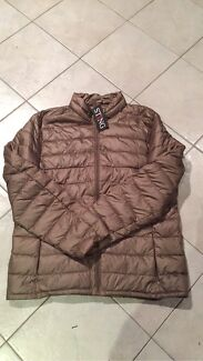 Taupe puffer jacket Belrose Warringah Area Preview