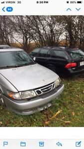 Saab parts for sale