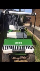 EZGO gas golf cart
