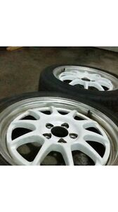 Enkei rims and tires for sale.