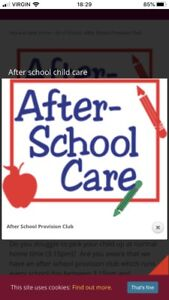 After School Care Needed