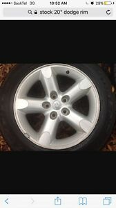 """Need a stock 20""""  5 bolt dodge rim for 2007 dodge 1500"""