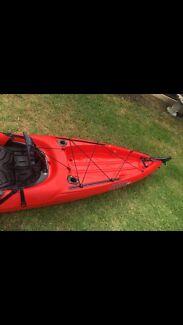 Wilderness Tarpon 140 Kayak- Red