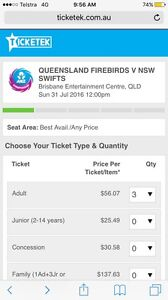WANTED Firebird tix Spring Hill Brisbane North East Preview