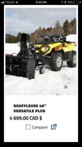 Souffleuse - snowblower berco