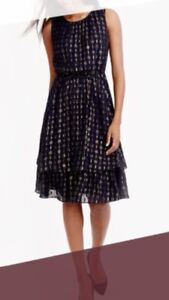 JCrew navy dress perfect condition size 2