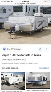 2009 Tent Trailer for sale Jayco 1206