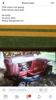 Rover Rancher Ride On Mower For Sale