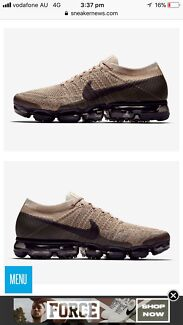 Nike VaporMax size 7