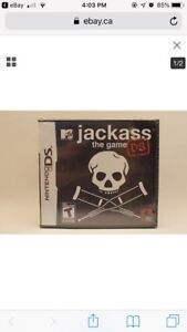 Nintendo ds Jackass the game new sealed stocking stuffer