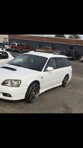 1999 twin turbo Subaru Legacy