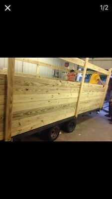 Wood 16 Ft Trailer