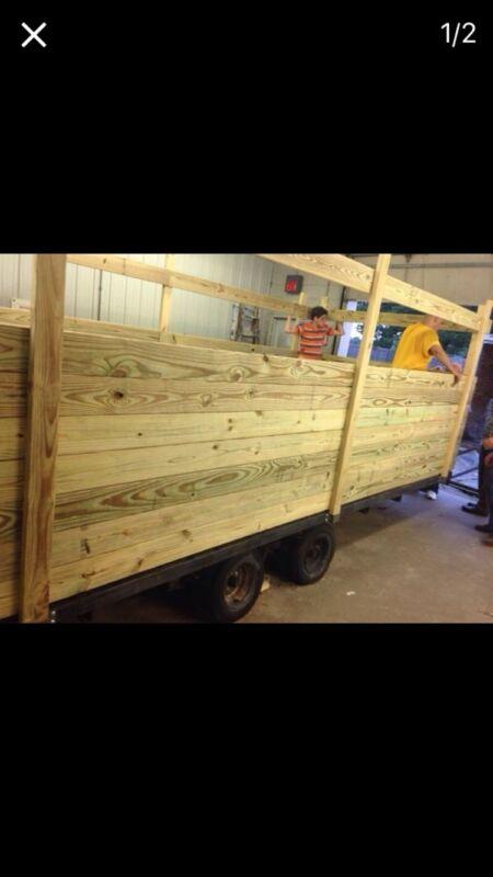 Wood 16 Ft Trailer