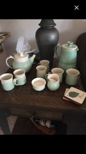 Locally made tea set