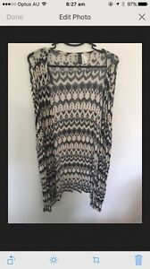 H&M Slouch Cardigan - Size L - Washed But Never Worn Langwarrin Frankston Area Preview