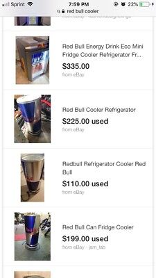 Redbull Cooler And Ice Cooler