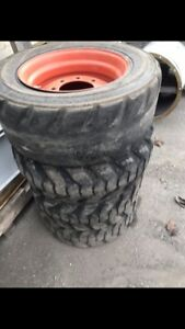 bobcat skid steer tires and rims