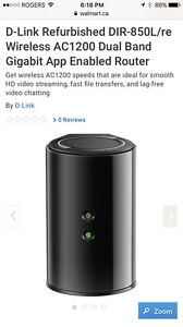 D- link ac1200 wireless router