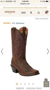 Brand New Ariat Boots