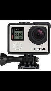 GoPro Hero 4 Black sell or trade for DSLR