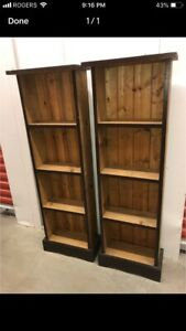 Matching Wood Shelf's ****Free Delivery Included****