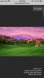 Palm Springs Golf Resort 7-day Vacation Jan. 21-28
