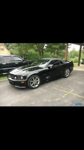Mustang saleen supercharged convertible