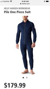 NEW! Helly Hansen one piece (Navy - Extra Large)