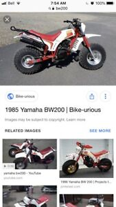 Looking for Yamaha BW200 bike