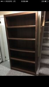 Book case shelving unit