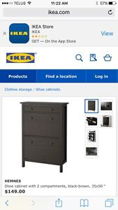 Brand new shoe cabinet from ikea