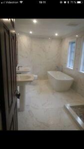Entrepreneur en rénovation: salle de bain, sous-sol et plus.RBQ