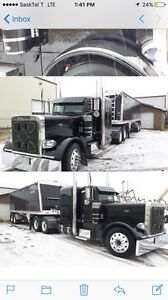 2007 379 flat top peterbilt 2015 Wilson super B's