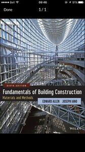 Fundamentals of Building construction- materials and methods